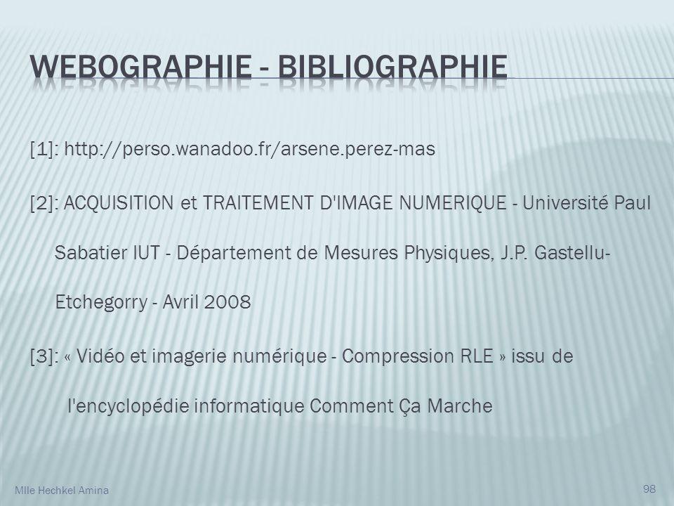 Webographie - Bibliographie