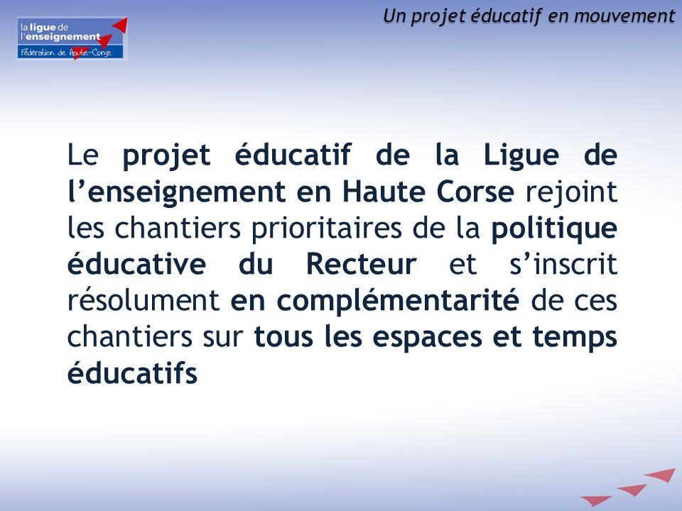 Un projet éducatif en mouvement