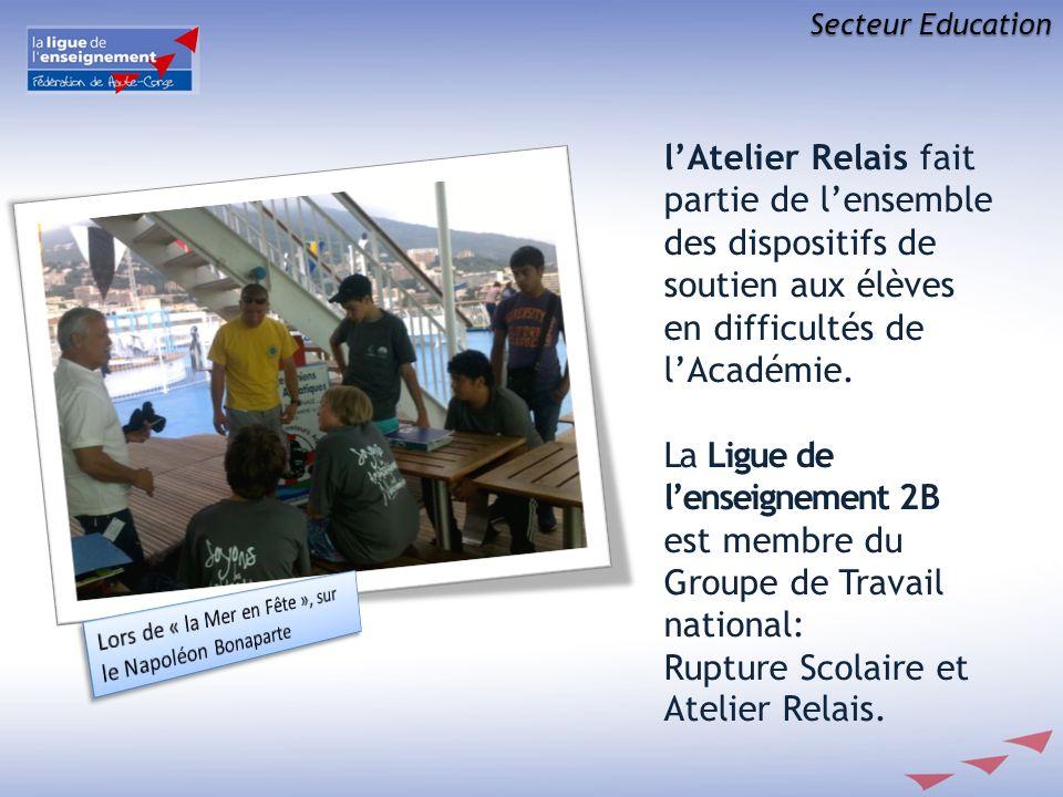 Rupture Scolaire et Atelier Relais.