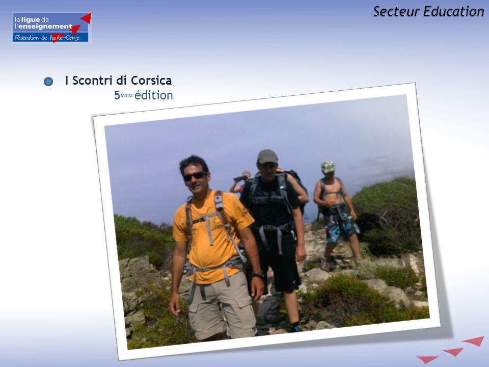 Secteur Education I Scontri di Corsica 5ème édition