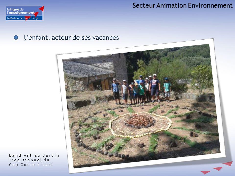 Secteur Animation Environnement