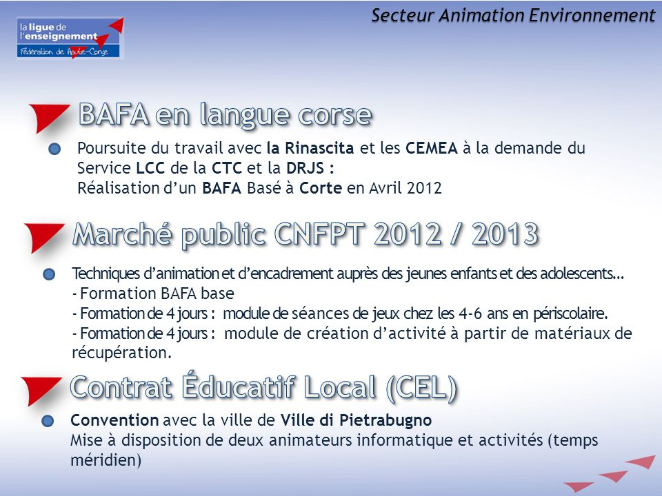 Contrat éducatif Local (CEL)