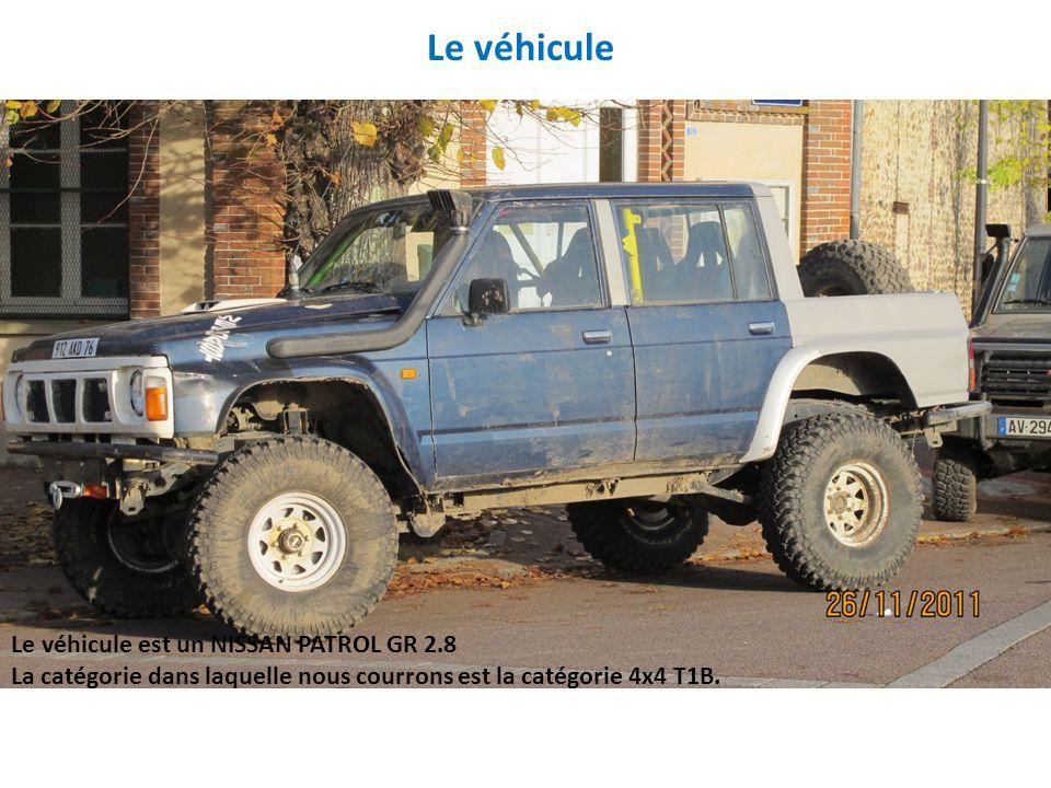 Le véhicule Le véhicule est un NISSAN PATROL GR 2.8