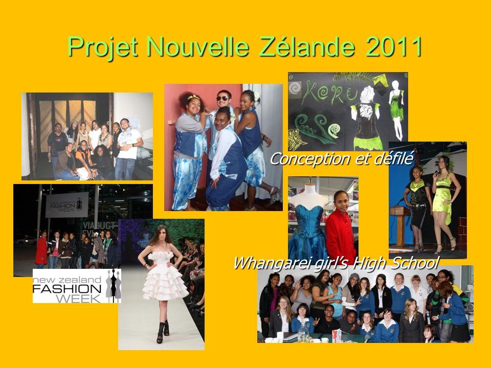Projet Nouvelle Zélande 2011