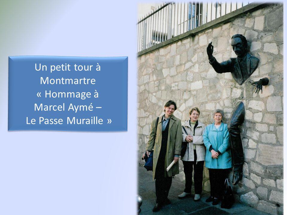 Un petit tour à Montmartre