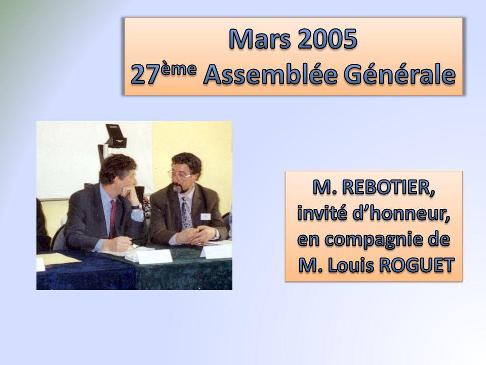 Mars 2005 27ème Assemblée Générale