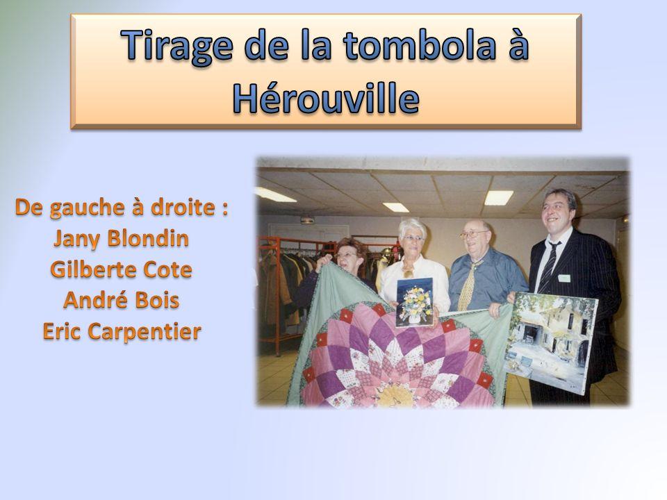 Tirage de la tombola à Hérouville