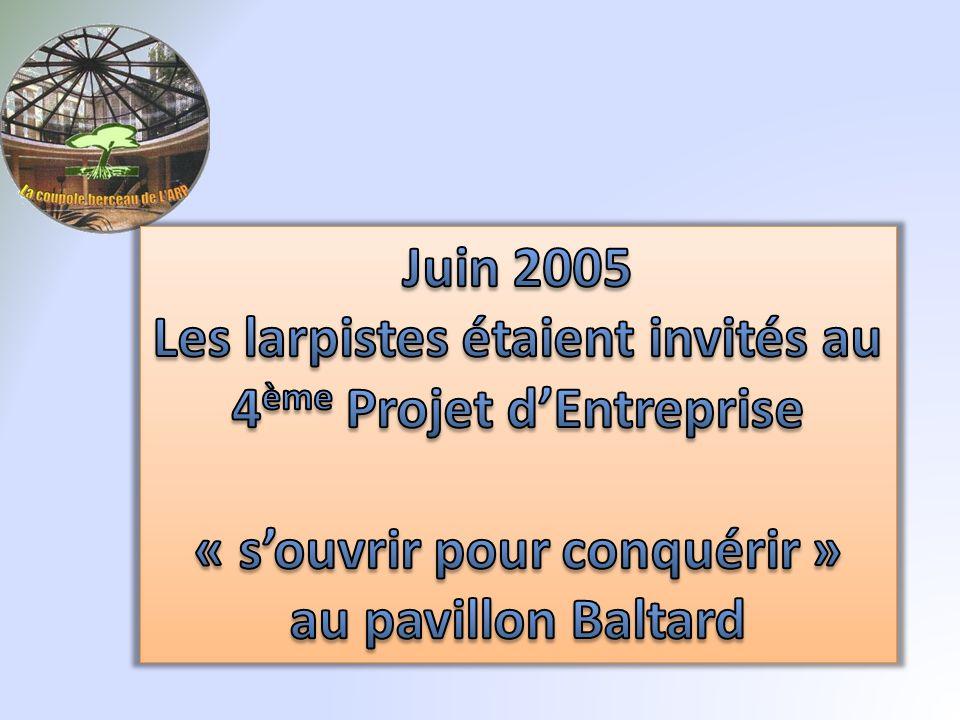 Les larpistes étaient invités au 4ème Projet d'Entreprise
