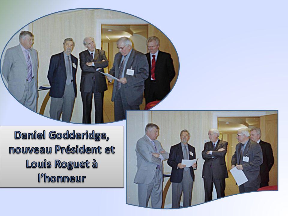 Daniel Godderidge, nouveau Président et Louis Roguet à l'honneur