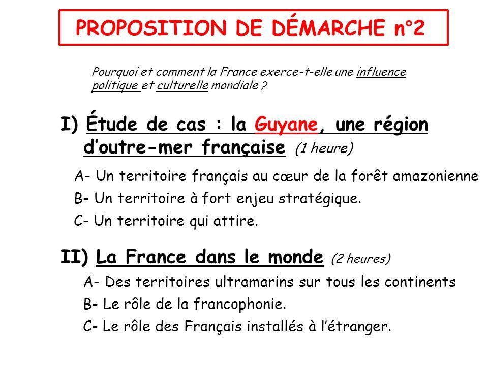 Proposition de démarche n°2