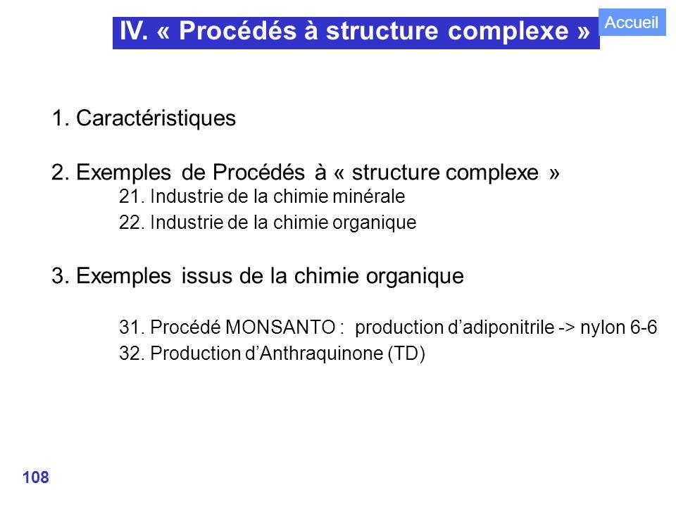IV. « Procédés à structure complexe »