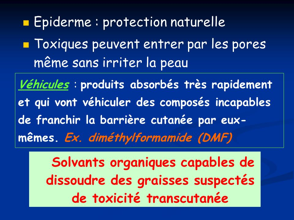 Epiderme : protection naturelle