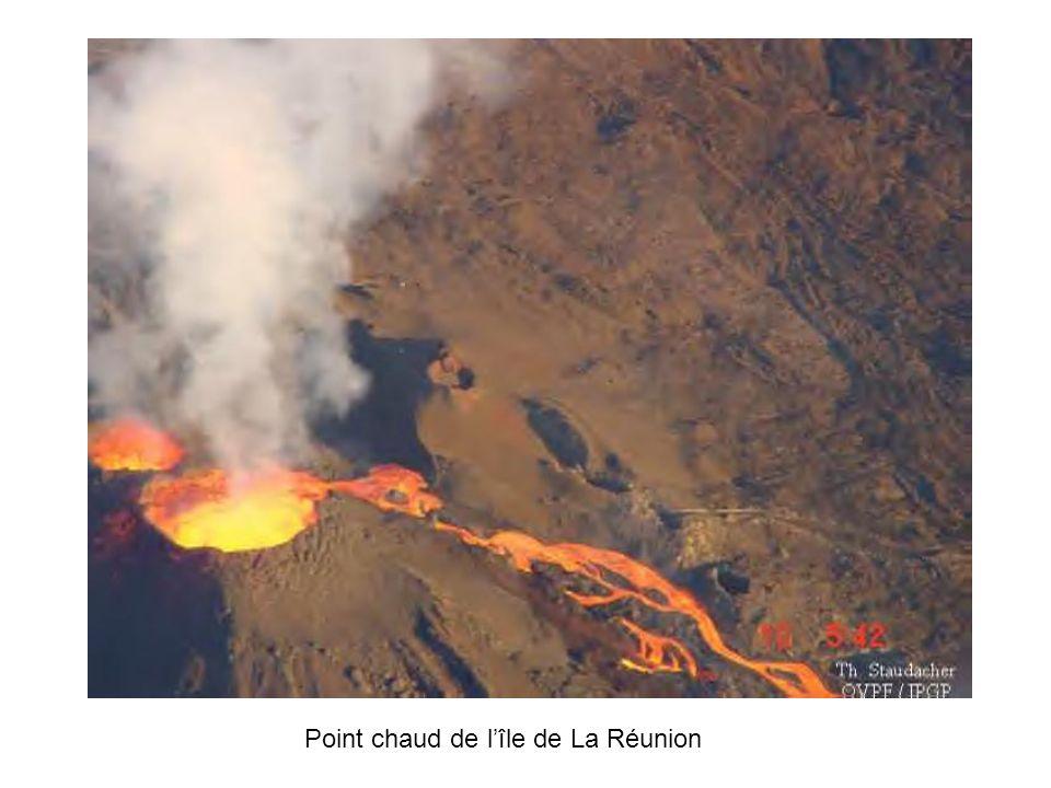 Point chaud de l'île de La Réunion