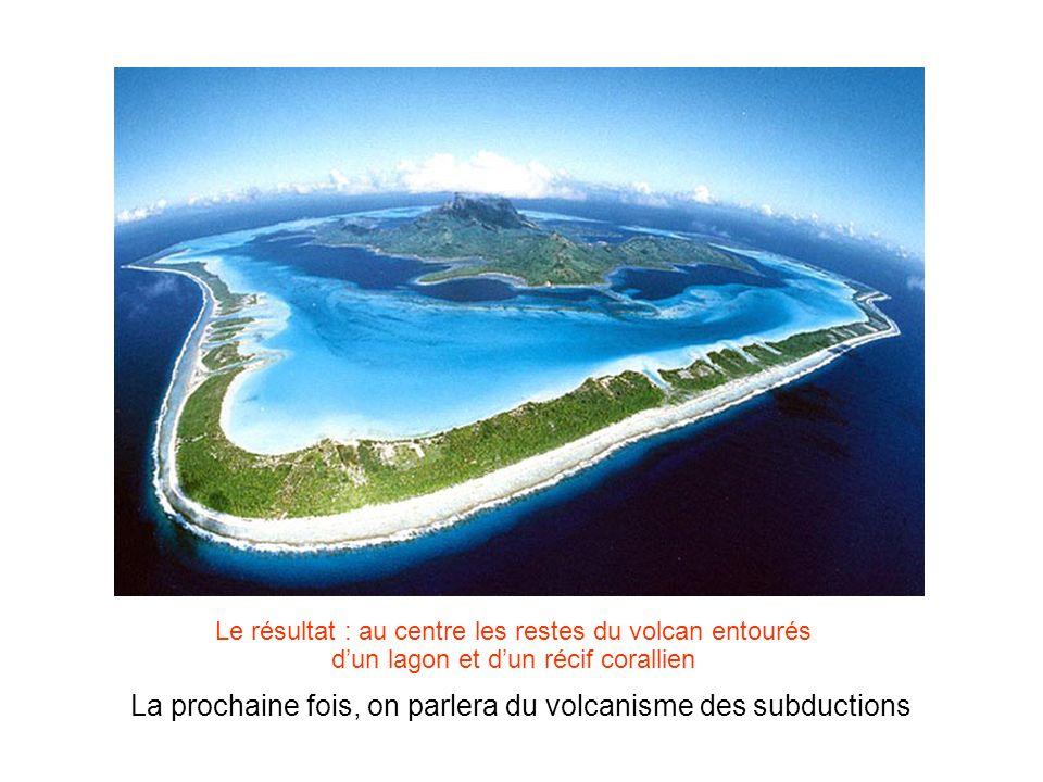 La prochaine fois, on parlera du volcanisme des subductions