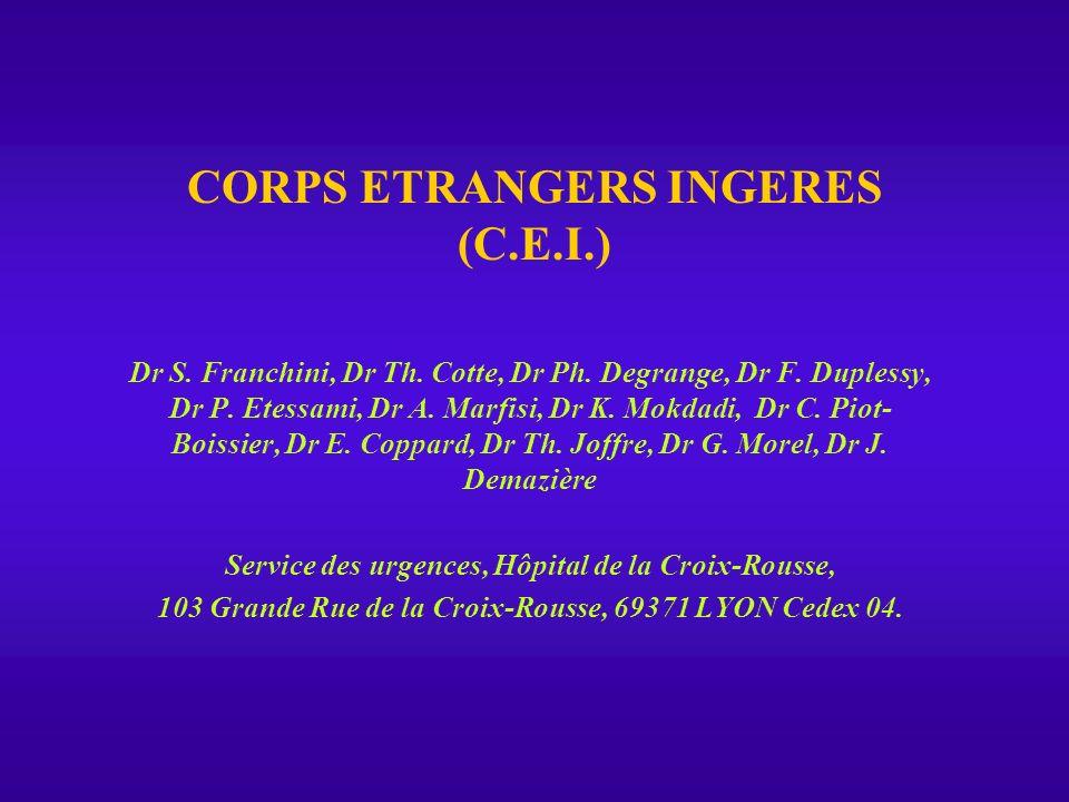 CORPS ETRANGERS INGERES (C.E.I.)