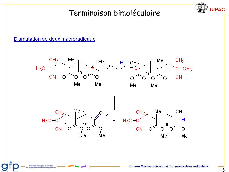 Terminaison bimoléculaire