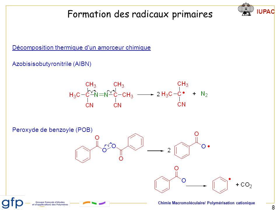Chimie Macromoléculaire/ Polymérisation cationique