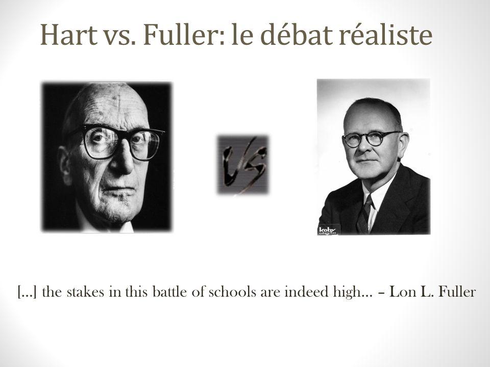 Hart vs. Fuller: le débat réaliste