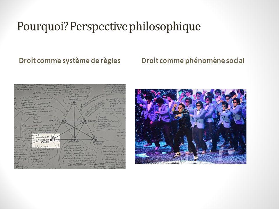 Pourquoi Perspective philosophique