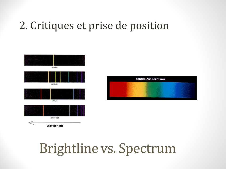 Brightline vs. Spectrum