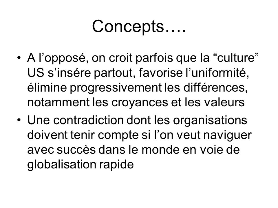 Concepts….