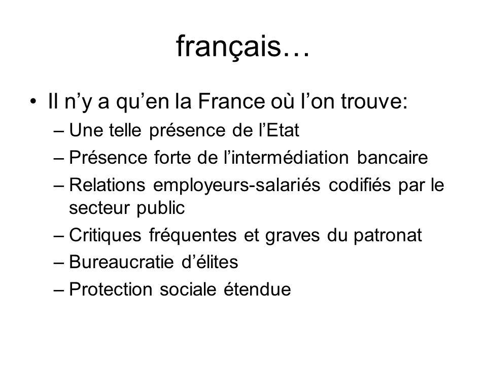 français… Il n'y a qu'en la France où l'on trouve: