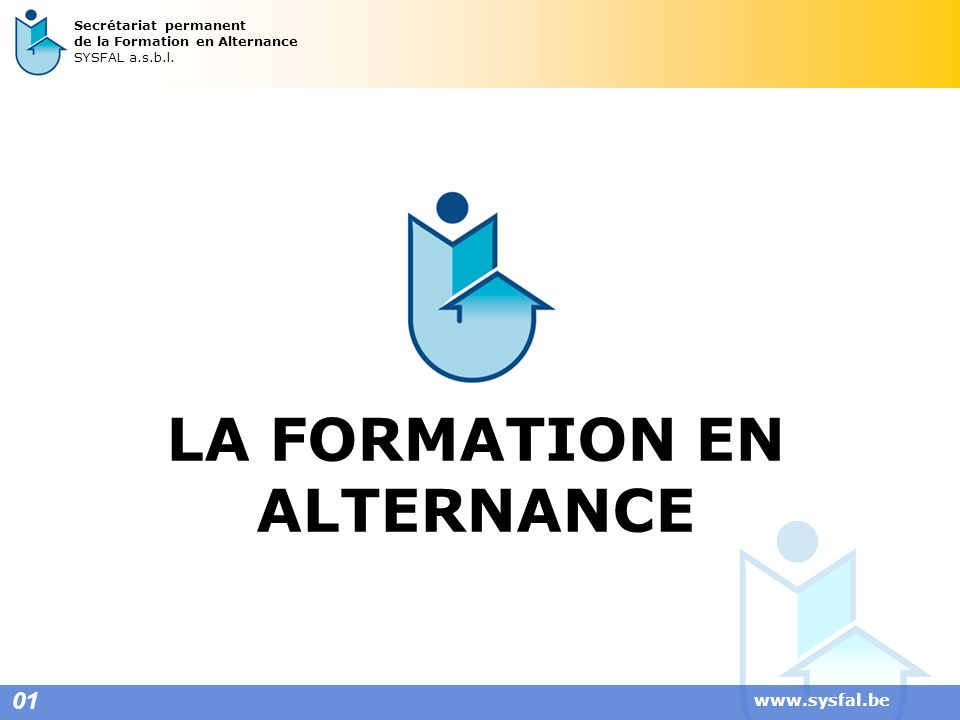 LA FORMATION EN ALTERNANCE