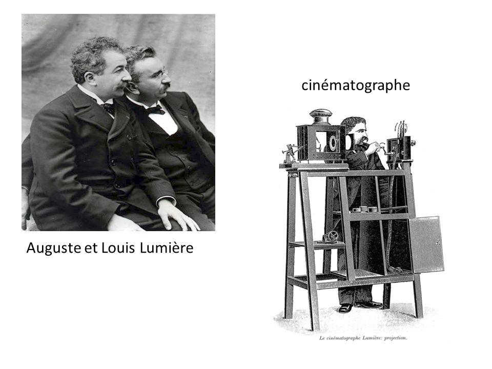 cinématographe Auguste et Louis Lumière