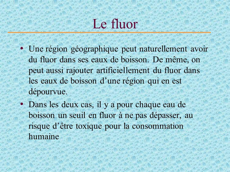Le fluor