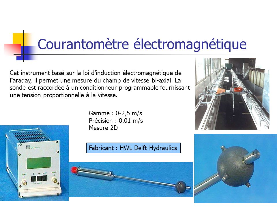 Courantomètre électromagnétique