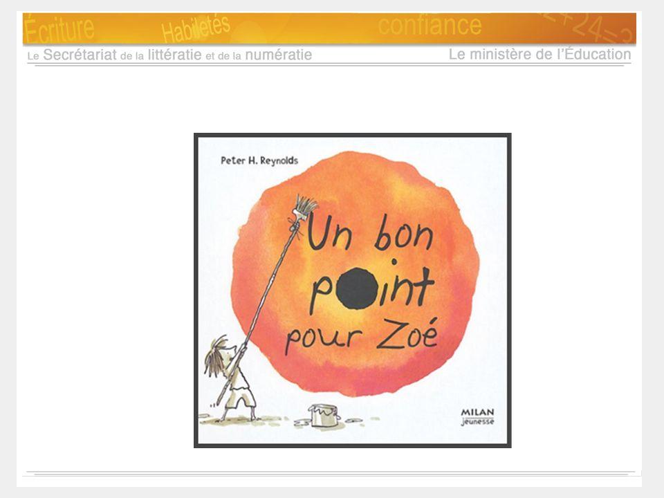 Notes d'animation: Faire la lecture à haute voix du texte: « Un bon point pour Zoé » Donner une intention d'écoute : Réfléchir sur nos pratiques.