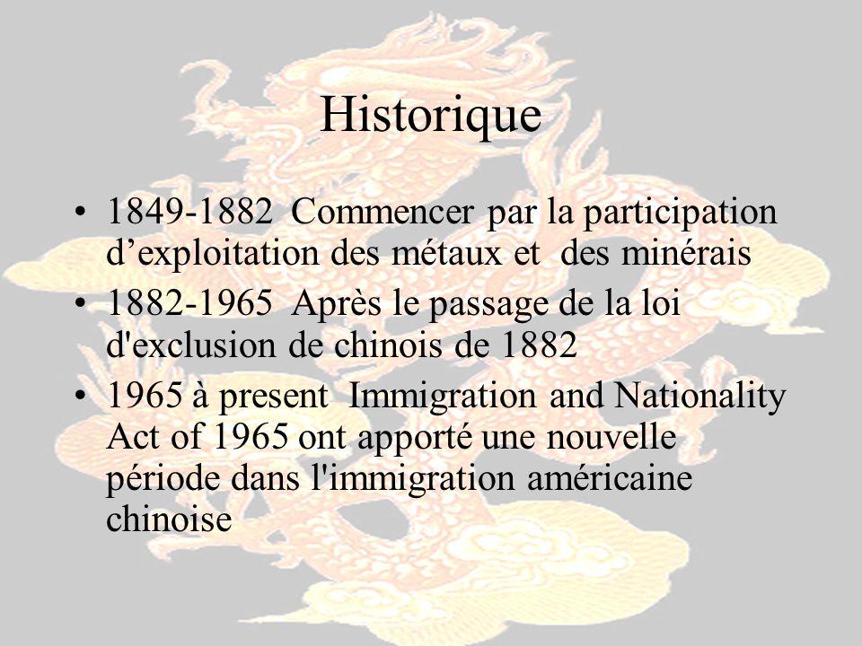 Historique 1849-1882 Commencer par la participation d'exploitation des métaux et des minérais.