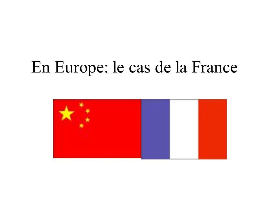 En Europe: le cas de la France