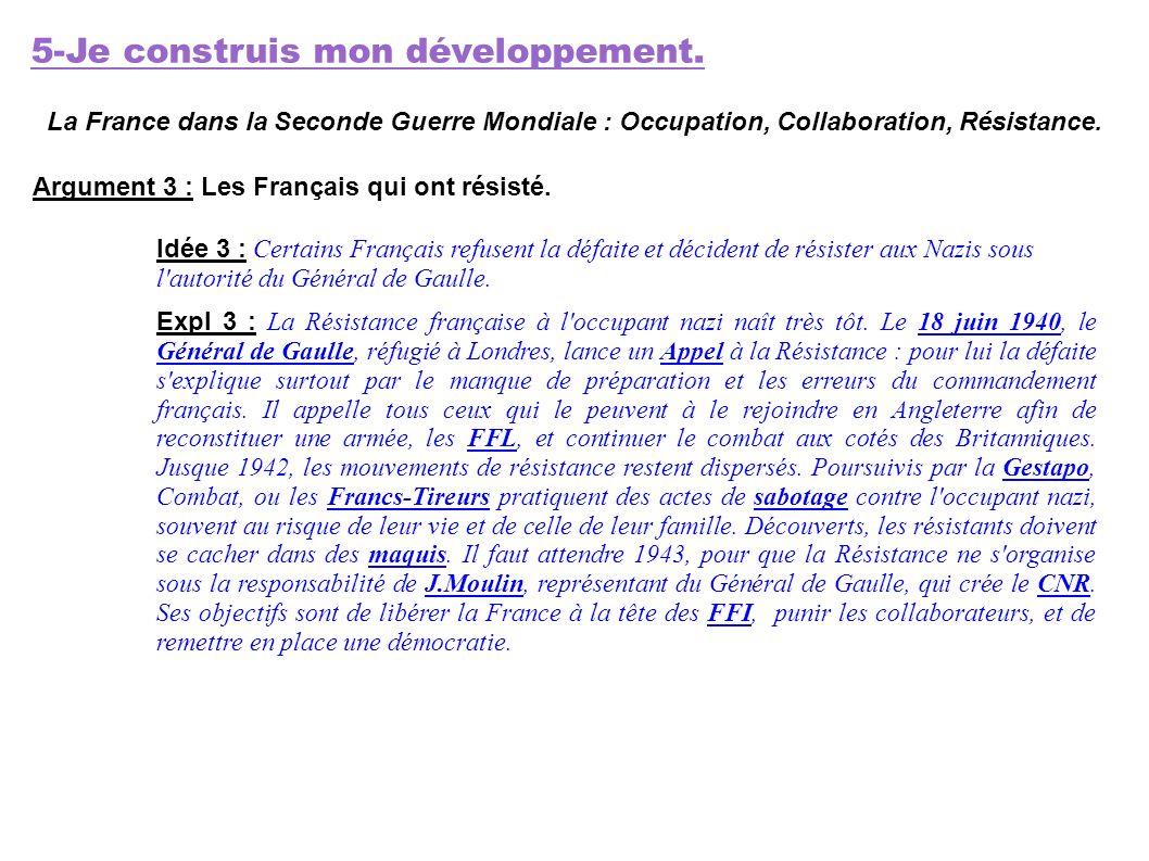 5-Je construis mon développement.
