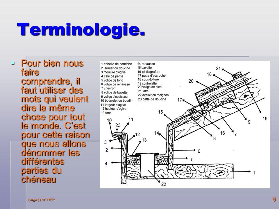 Terminologie.