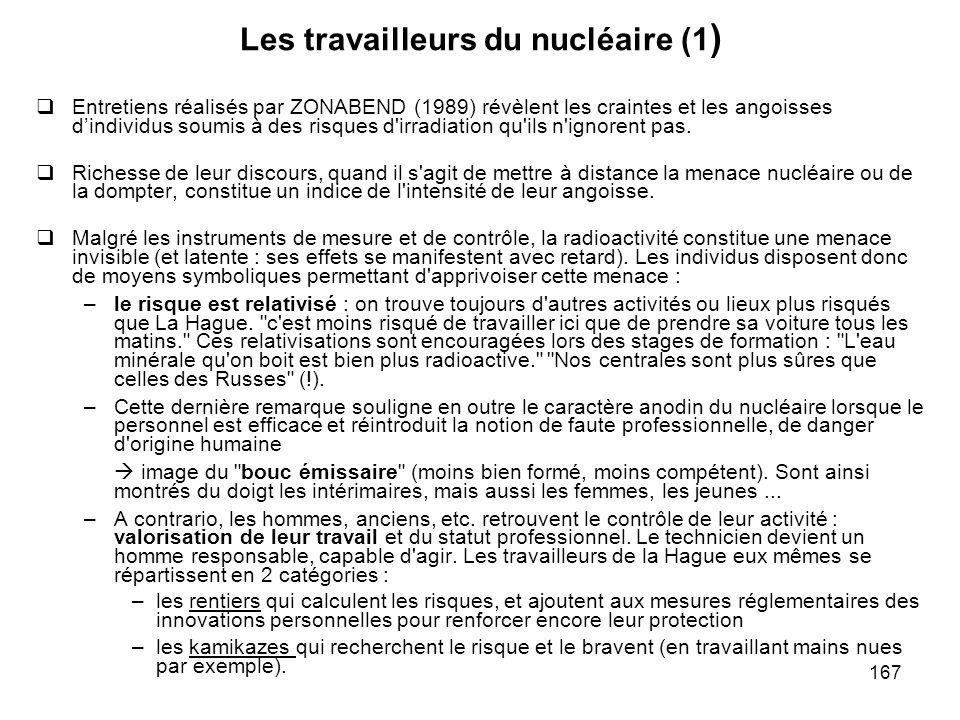 Les travailleurs du nucléaire (1)