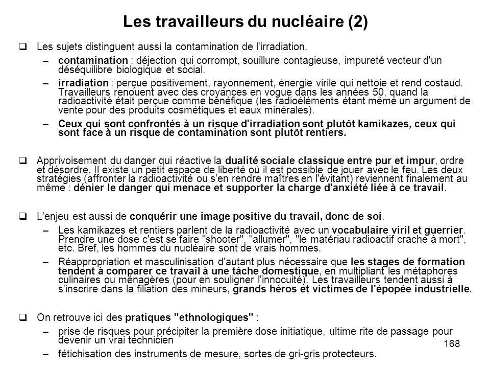 Les travailleurs du nucléaire (2)