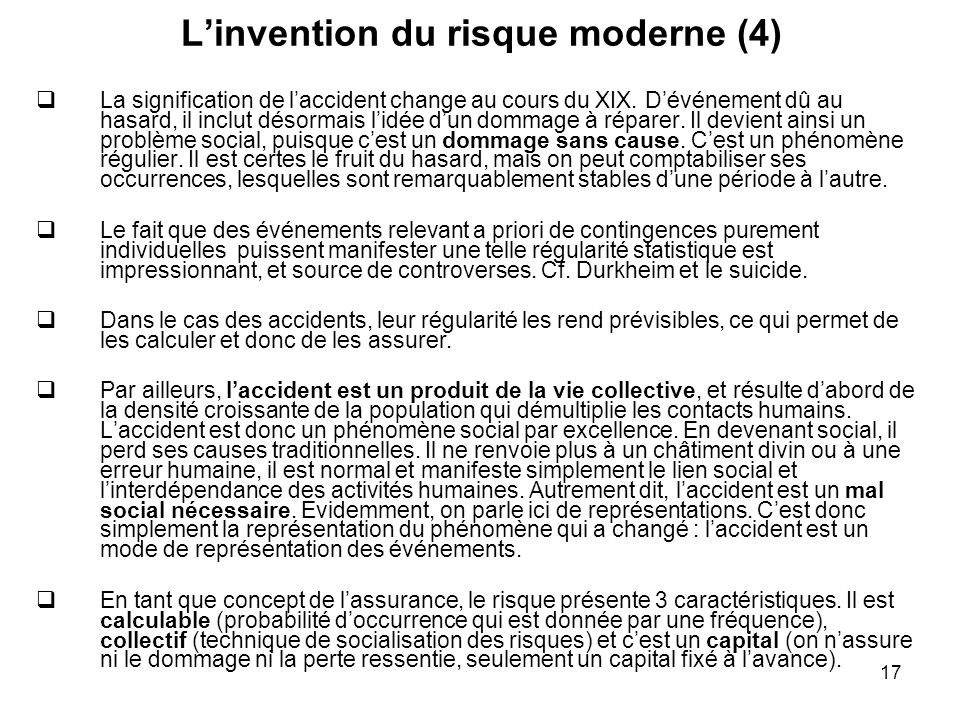 L'invention du risque moderne (4)