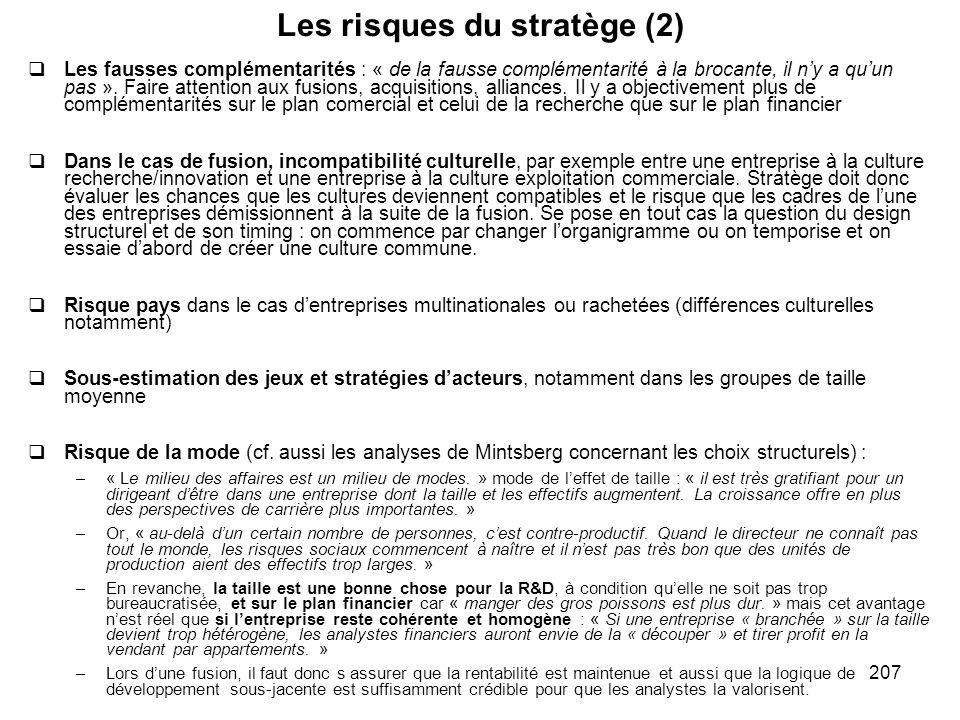 Les risques du stratège (2)