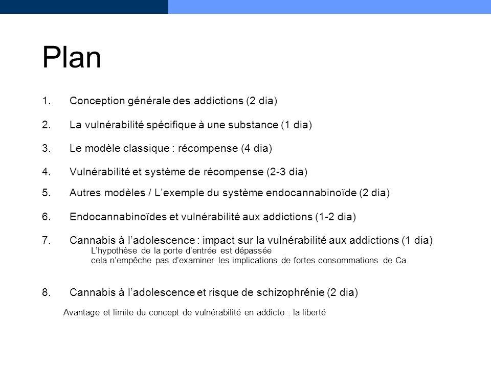 Plan Conception générale des addictions (2 dia)