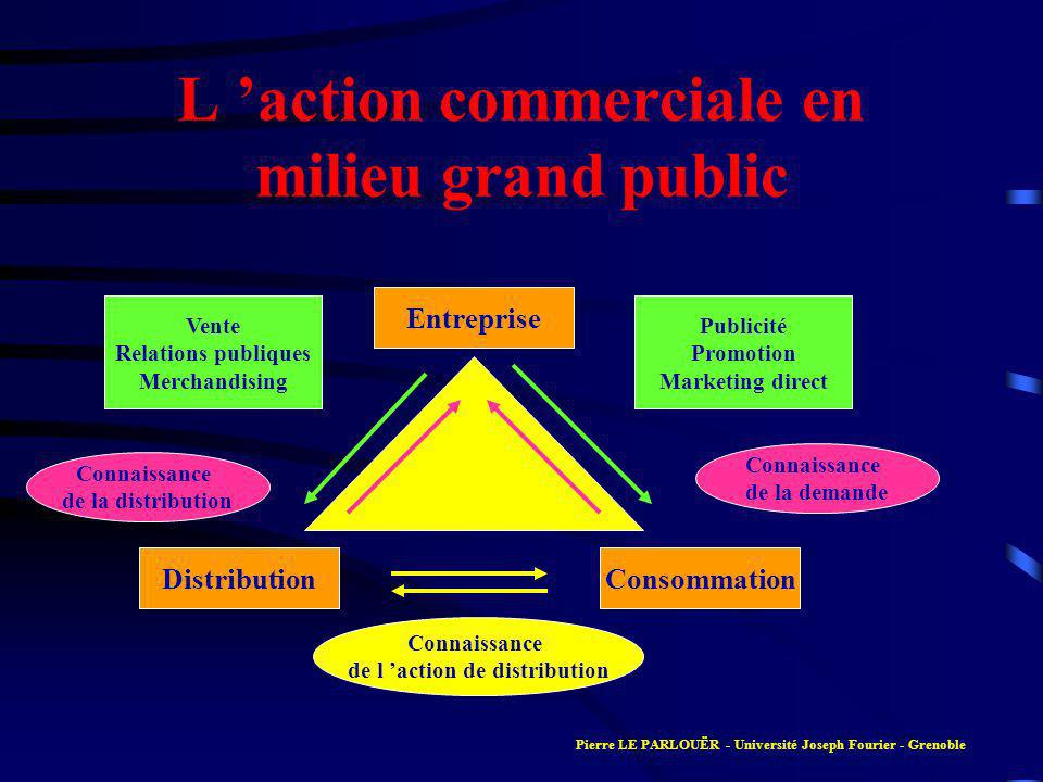 L 'action commerciale en milieu grand public