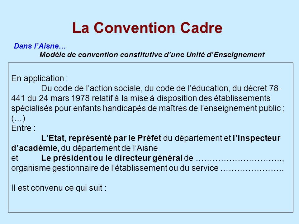 Modèle de convention constitutive d'une Unité d'Enseignement