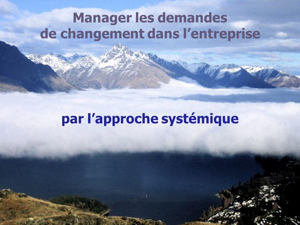 de changement dans l'entreprise par l'approche systémique