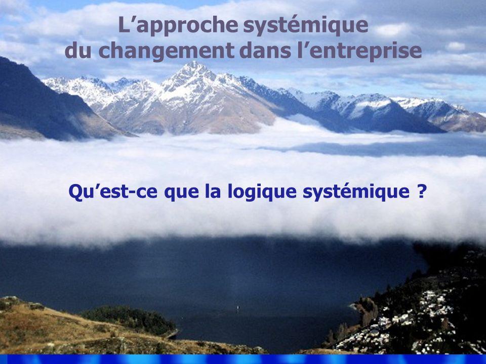 L'approche systémique du changement dans l'entreprise