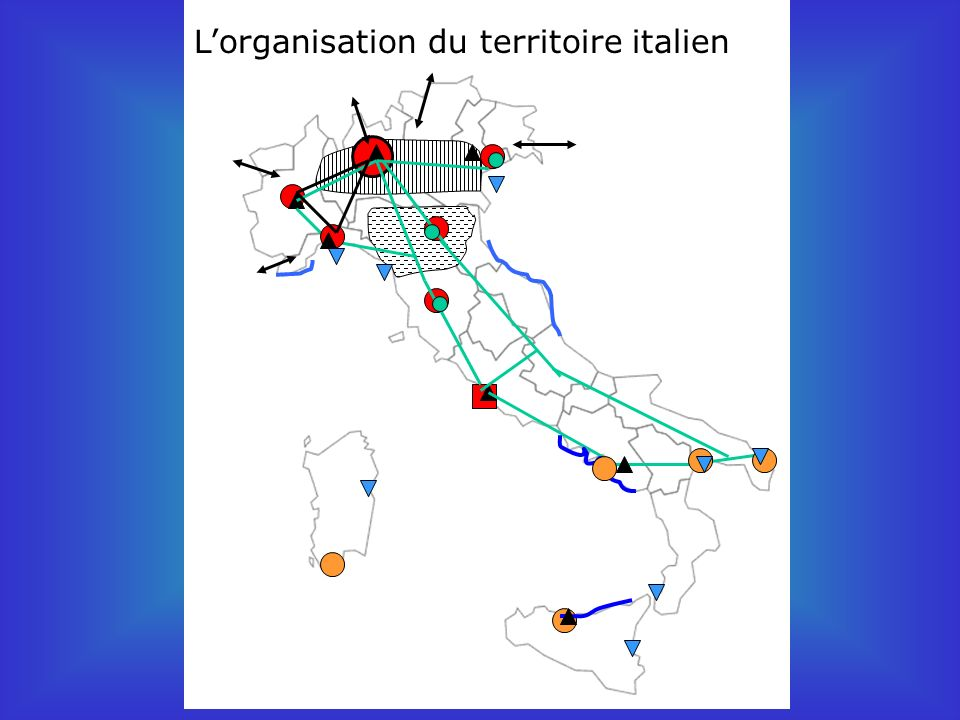 L'organisation du territoire italien