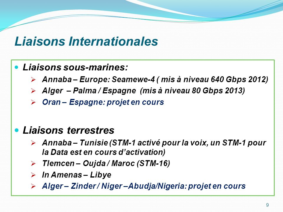 Liaisons Internationales
