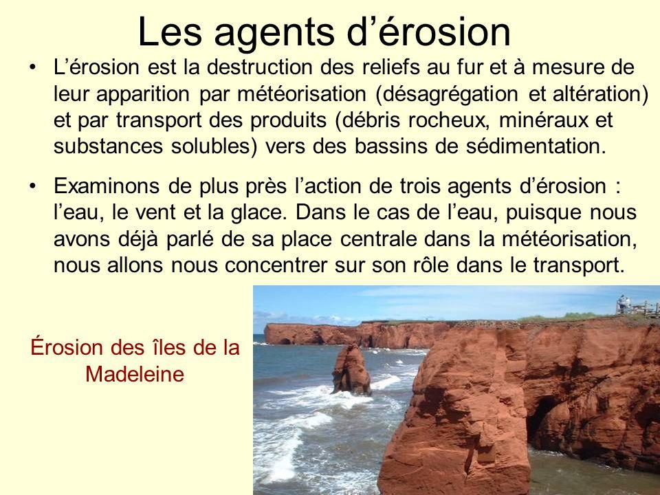 Érosion des îles de la Madeleine