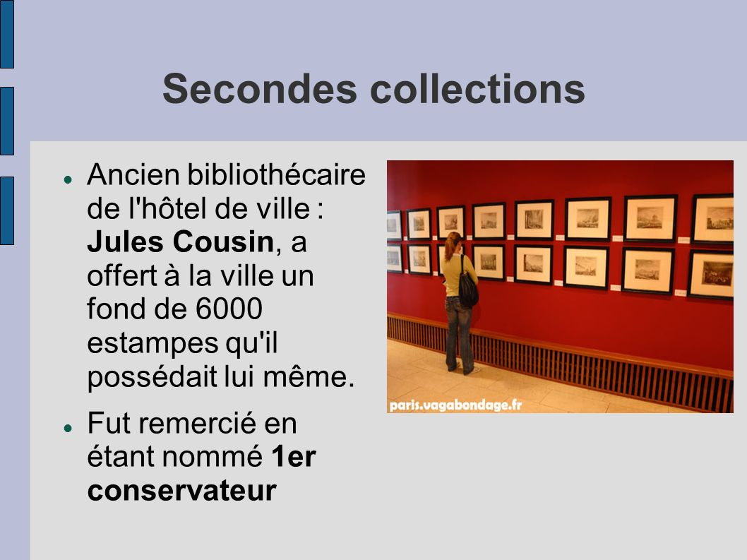 Secondes collections