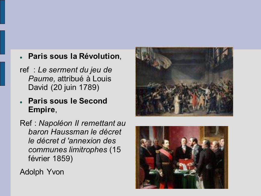 Paris sous la Révolution,