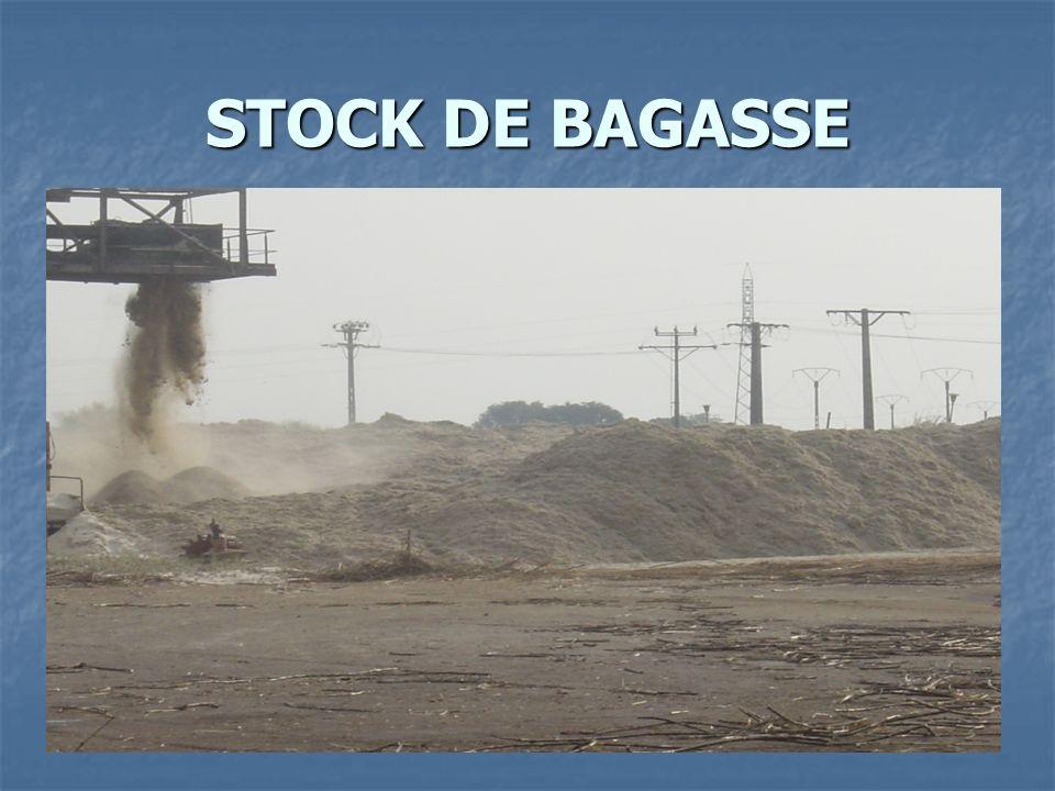 STOCK DE BAGASSE